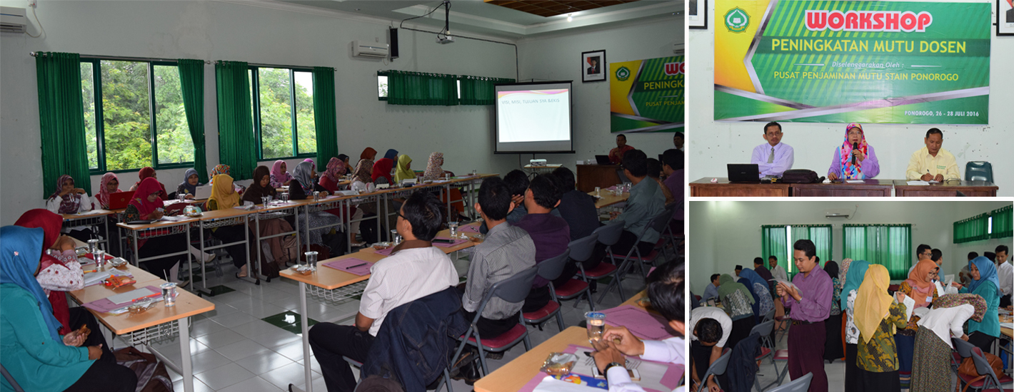 Workshop Peningakatan Mutu Dosen